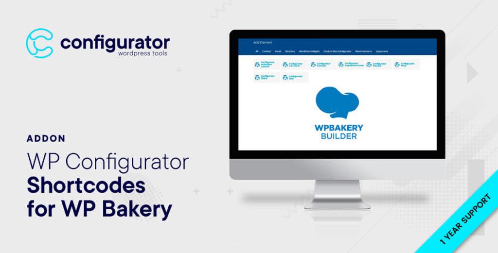 Shortcodes for WP Bakery - WP Configurator Plugin