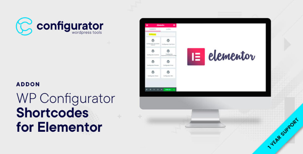 Shortcodes for Elementor - WP Configurator Plugin